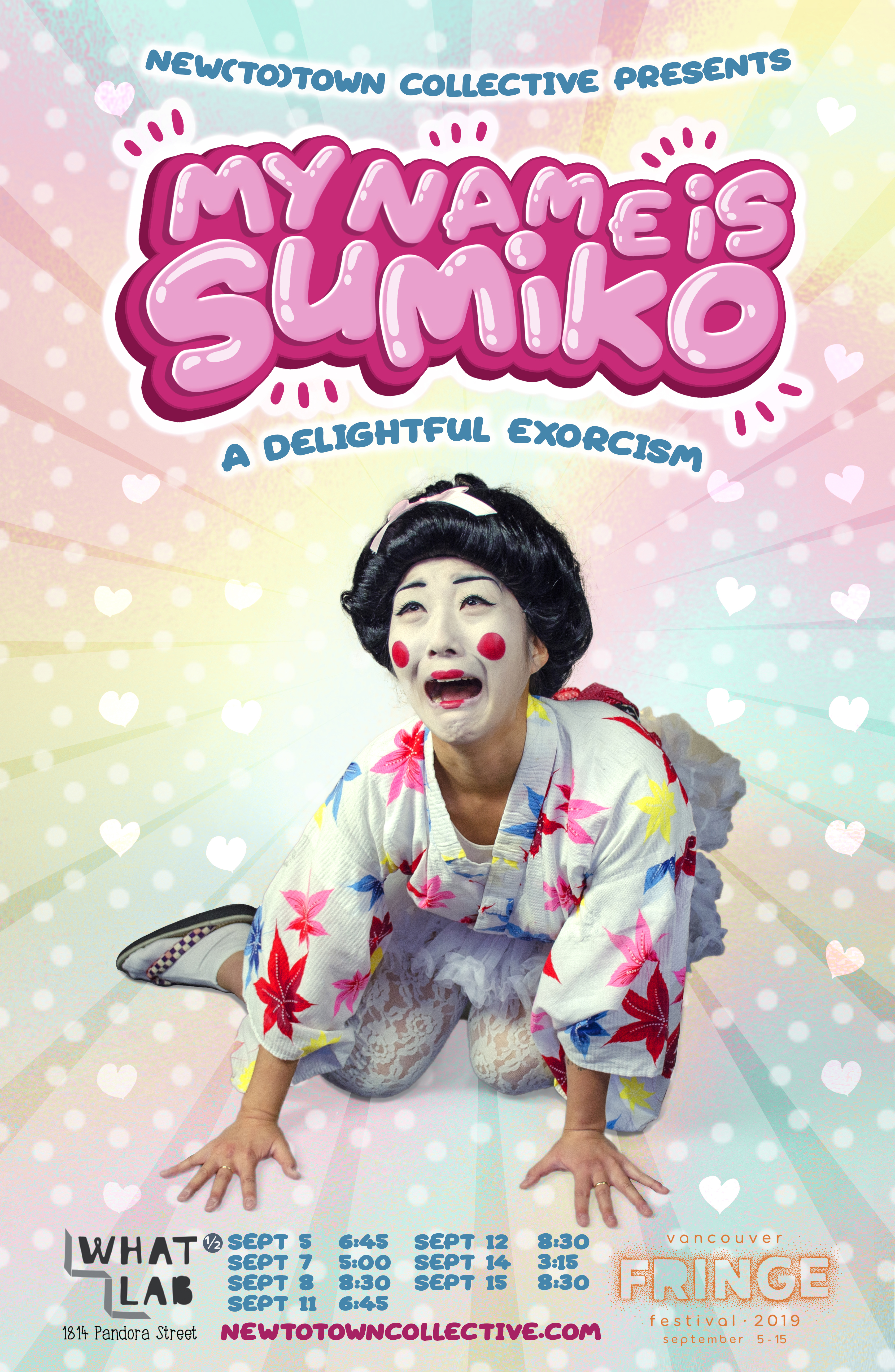 Sumiko-11x17 poster-VanFringe